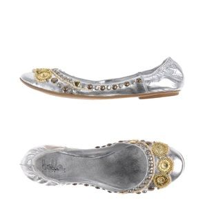 BELLE BY SIGERSON MORRISON Jeweled Flats 7 1/2 B
